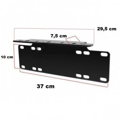 LED žibintų tvirtinimo laikiklis - numerio rėmelis 2