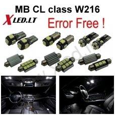 Mercedes Benz CL class W216 LED salono apšvietimo lempučių komplektas