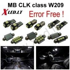 Mercedes Benz CLK class W209 LED salono apšvietimo lempučių komplektas