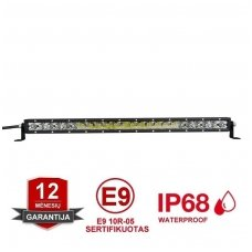 MINI LED BAR žibintas 120W 12-24V (E9 10R) COMBO