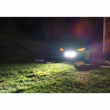 MINI LED BAR žibintas 100W 12-24V COMBO 54cm 15