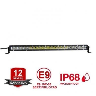 MINI LED BAR žibintas 120W 12-24V COMBO 64cm