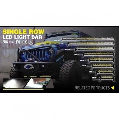 MINI LED BAR žibintas 50W 12-24V COMBO 29cm 3