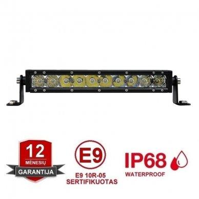 MINI LED BAR žibintas 50W 12-24V COMBO 29cm