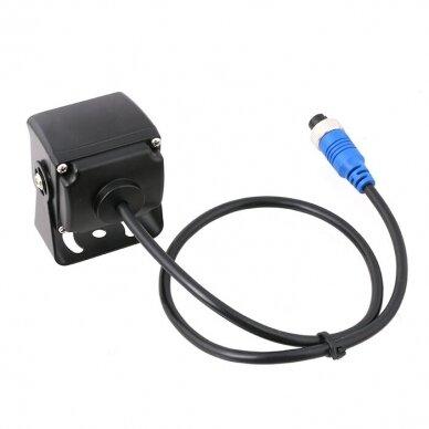 MINI spec. technikos išorės vaizdo kamera 4PIN IP68 12V-24V 5