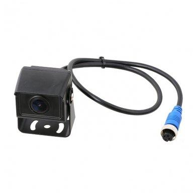 MINI spec. technikos išorės vaizdo kamera 4PIN IP68 12V-24V 3