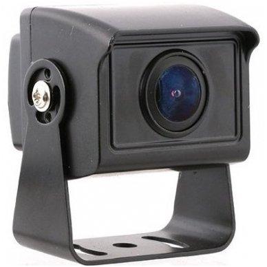 MINI spec. technikos išorės vaizdo kamera 4PIN IP68 12V-24V