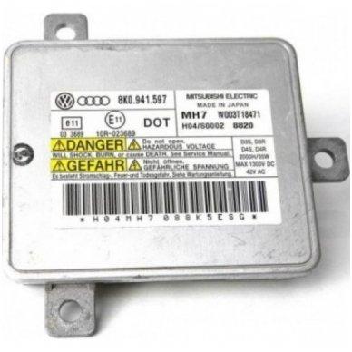 Mitsubishi Electric 4.0 MH7 W003T18471 / 8K0.941.597 / 8K0941597 xenon blokas OEM D3S, D3R, D4S, D4R lemputėms 2
