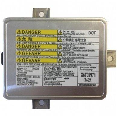 Mitsubishi Electric xenon blokas X6T02971 / W3T10471 / W3T11371 / X6T02981 / W3T156716 3