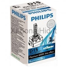 NEW Philips D1S BlueVision Ultra originali 85415BVUC1 PK32d-2, 8727900365443 xenon lemputė