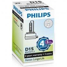 D1S NEW PHILIPS LONGERLIFE originali 85122SYC1, 4300K xenon lemputė