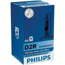 D2R NEW PHILIPS WHITE VISION GEN2 85V 35W 85126WHVC1 P32d-3, 8727900375015 xenon lemputė