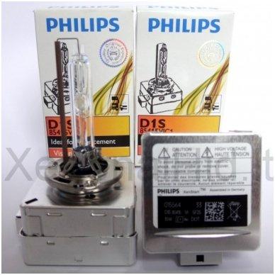 D1S NEW PHILIPS VISION originali 85415VIC1, 4400K xenon lemputė 4