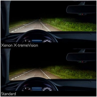 D1S NEW PHILIPS X-TREME VISION +150% GEN2 originali 85415XV2C1, 4800K xenon lemputė 5
