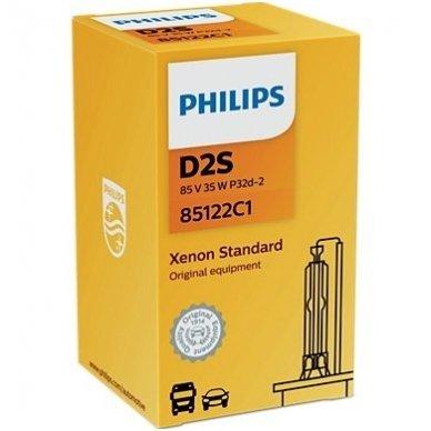 D2S NEW PHILIPS VISION originali 85122VIC1, 4400K xenon lemputė