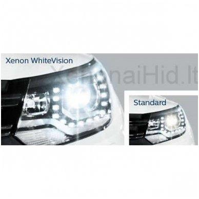 D2S NEW PHILIPS WHITE VISION GEN2 originali 85122WHV2C1, 5000K xenon lemputė 3