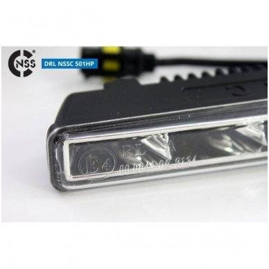 NSSC DRL-501HP LED dienos šviesos žibintai 7