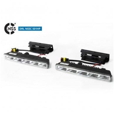 NSSC DRL-501HP LED dienos šviesos žibintai 4