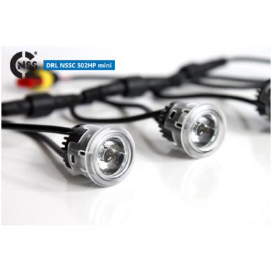 NSSC DRL-502S mini LED dienos šviesos žibintai 3