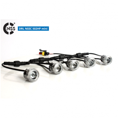 NSSC DRL-502S mini LED dienos šviesos žibintai 2