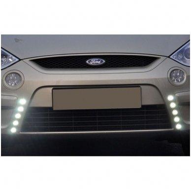 NSSC DRL-502S mini LED dienos šviesos žibintai 9