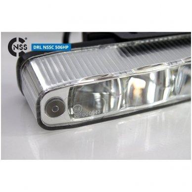 NSSC DRL-506HP LED dienos šviesos žibintai 5