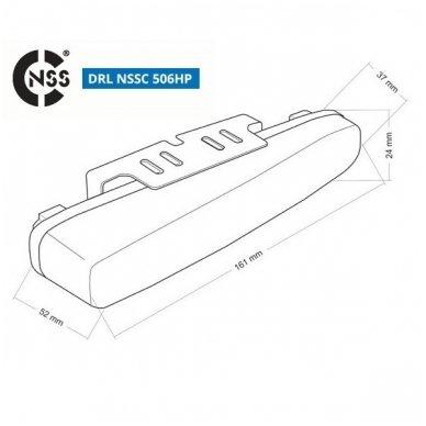 NSSC DRL-506HP LED dienos šviesos žibintai 9