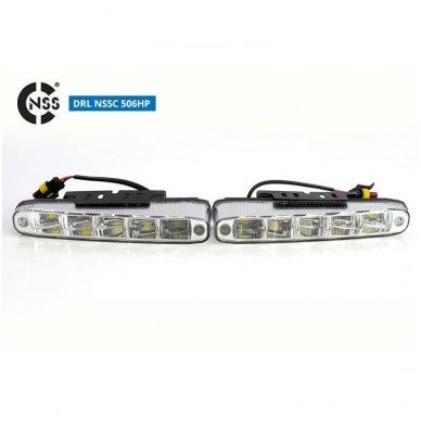 NSSC DRL-506HP LED dienos šviesos žibintai 7