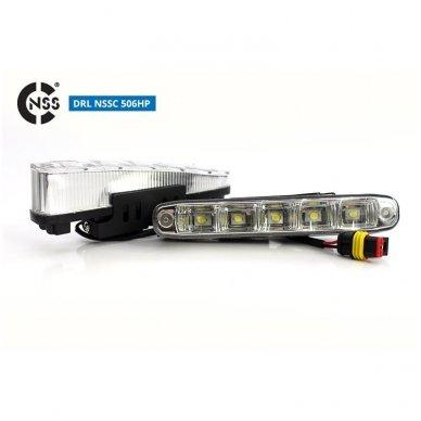 NSSC DRL-506HP LED dienos šviesos žibintai 3