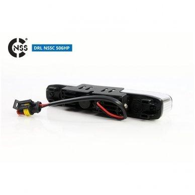 NSSC DRL-506HP LED dienos šviesos žibintai 8
