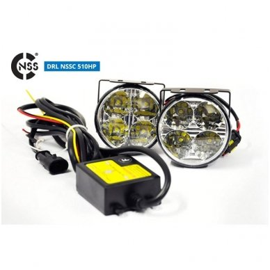 NSSC DRL-510HP LED dienos šviesos žibintai 4
