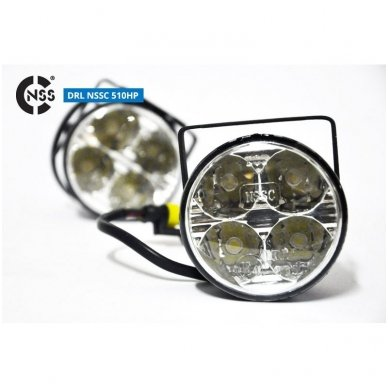 NSSC DRL-510HP LED dienos šviesos žibintai