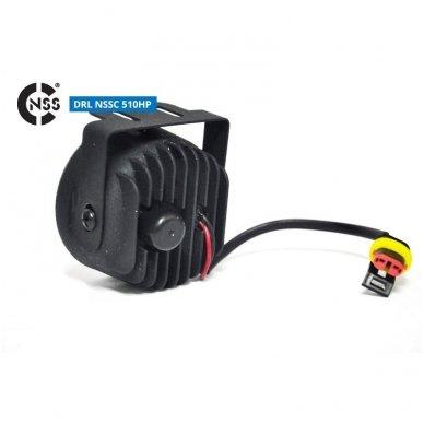 NSSC DRL-510HP LED dienos šviesos žibintai 7