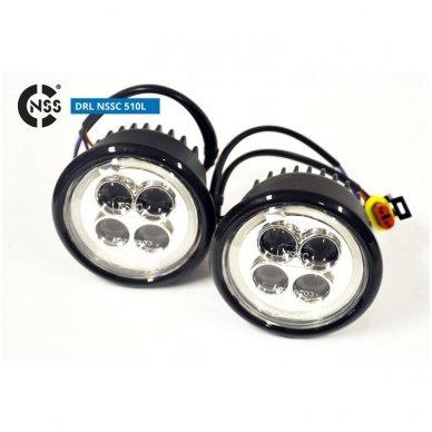 NSSC DRL-510LHP LED dienos šviesos žibintai 5