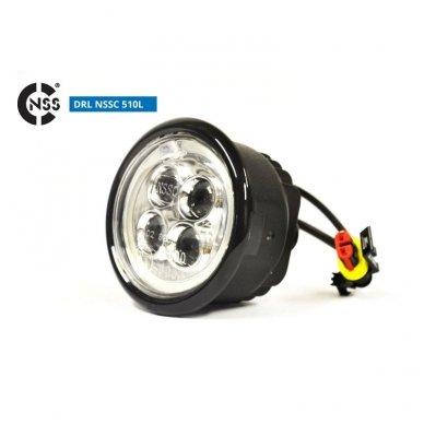 NSSC DRL-510LHP LED dienos šviesos žibintai 6