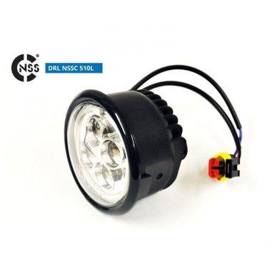 NSSC DRL-510LHP LED dienos šviesos žibintai 7