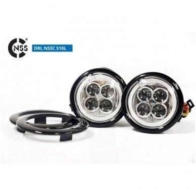 NSSC DRL-510LHP LED dienos šviesos žibintai 9