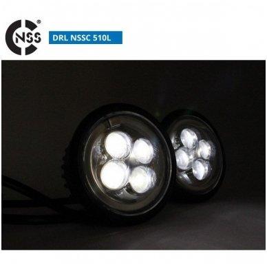 NSSC DRL-510LHP LED dienos šviesos žibintai 4