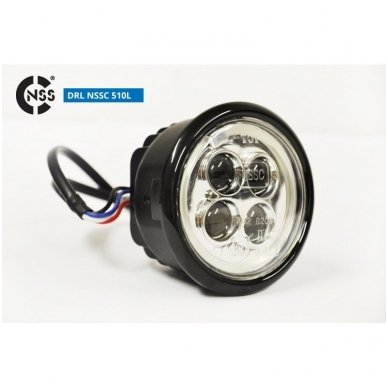 NSSC DRL-510LHP LED dienos šviesos žibintai 2
