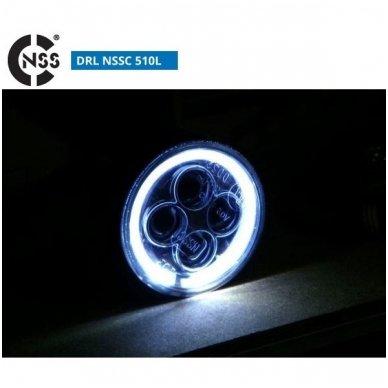 NSSC DRL-510LHP LED dienos šviesos žibintai 3