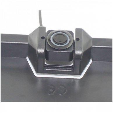 """Numerio rėmelis 3-ių juodos spalvos daviklių parkavimosi sistema su laidiniu LED ekranu """"EAGLE"""" 6"""