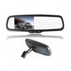 OEM NR.3 Veidrodėlis HD 4.3 colių LCD automobilio monitorius 12V-24V