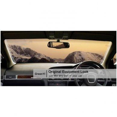 OEM Veidrodėlis HD 4.3 colių LCD automobilio monitorius 12V-24V 8