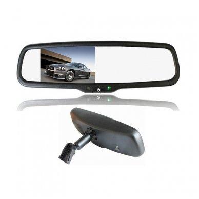 OEM Veidrodėlis HD 4.3 colių LCD automobilio monitorius 12V-24V