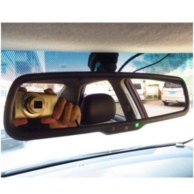 OEM Veidrodėlis HD 4.3 colių LCD automobilio monitorius 12V-24V 5
