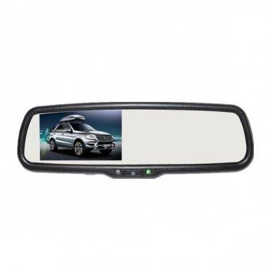OEM Veidrodėlis HD 4.3 colių LCD automobilio monitorius 12V-24V 3