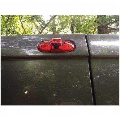 Opel Vivaro Renault Trafic 2001-2014 galinio vaizdo kamera integruota stabdžio žibinte 3