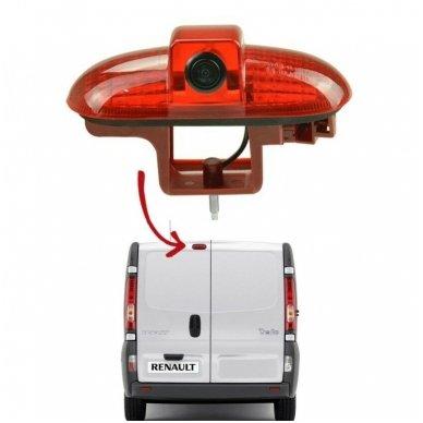 Opel Vivaro Renault Trafic 2001-2014 galinio vaizdo kamera integruota stabdžio žibinte
