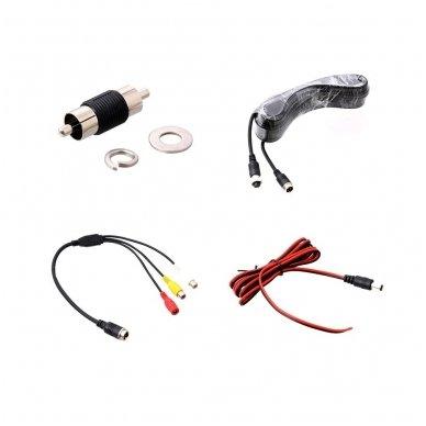 IVECO Daily 2011-2014 galinio vaizdo kamera integruota stabdžio žibinte 9