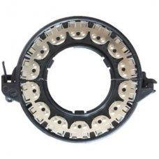 Originalus D1 D2 D3 D4 xenon LED lemputės adapteris su metaliniu žiedu BMW/AUDI/MB/TOYOTA/MAZDA /SAAB/VOLVO